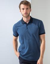 Contrast Tri Blend Polo Shirt
