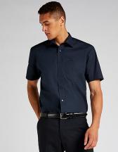 Men`s Classic Fit Business Shirt Short Sleeve